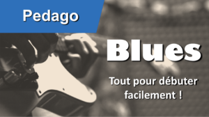 Support blues débutant