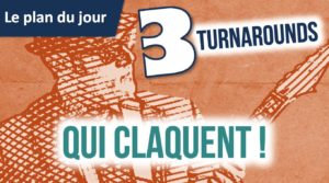 3 turnarounds blues qui claquent !