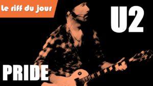 Jouer le riff de Pride (U2)