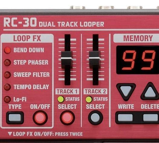 Le Boss RC-30 reste la référence absolue en matière de looper