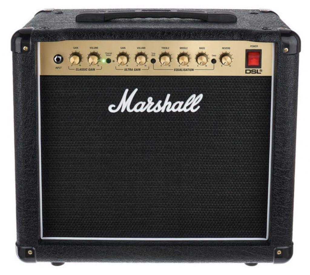 Le Marshall DSL5 permet de goûter au plaisir de la saturation Marshall dans un format moderne, compact et accessible