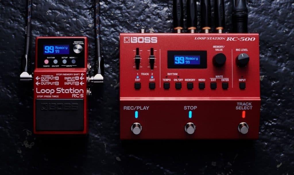 Boss RC 5 et Boss RC500