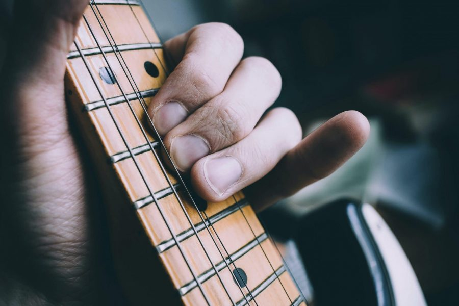 guitare zoom main bend