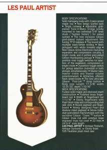 Gibson 80 cat LP Artist 2 m4vax5